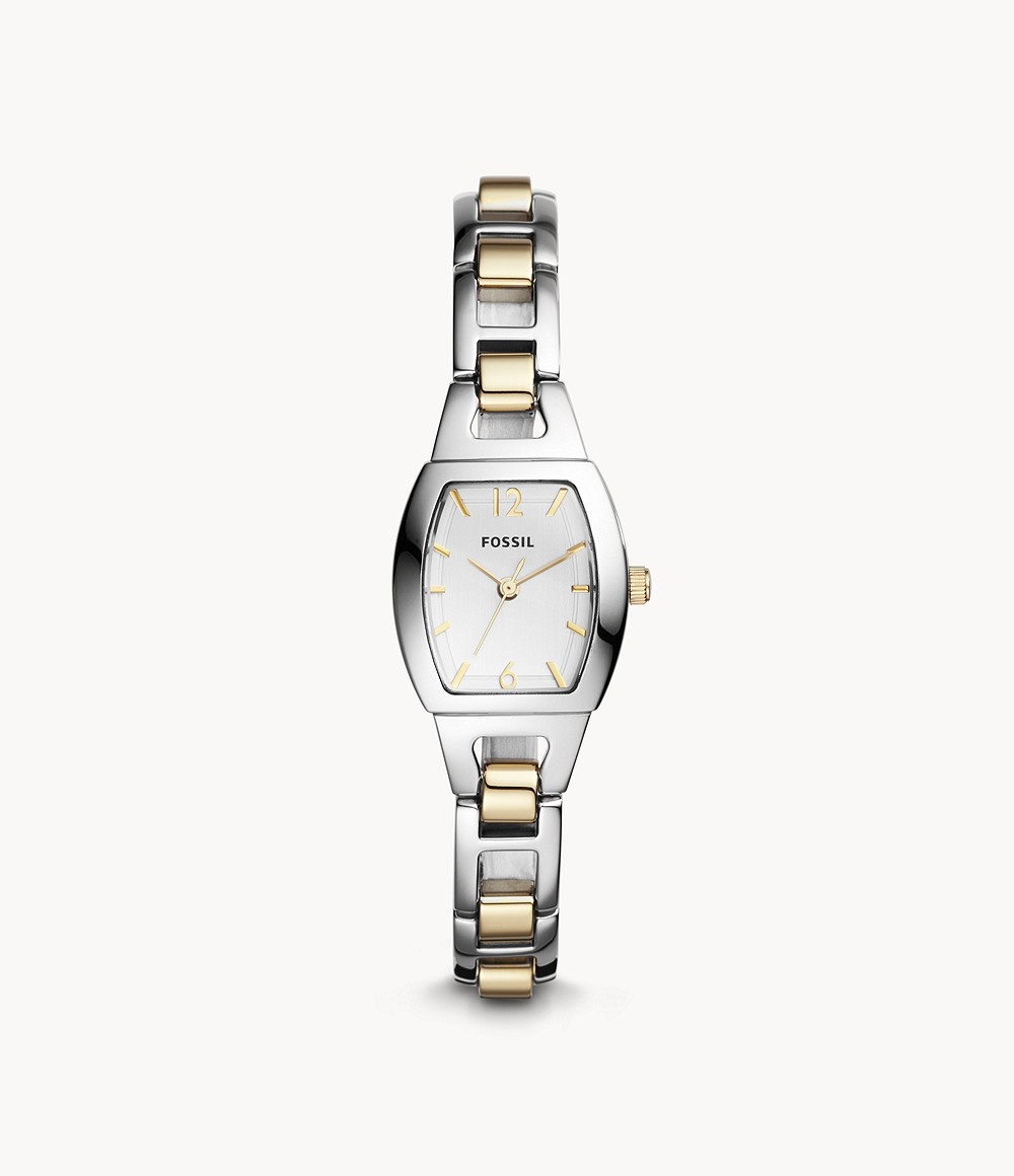 Isobel Three-Hand Two-Tone Stainless Steel Watch