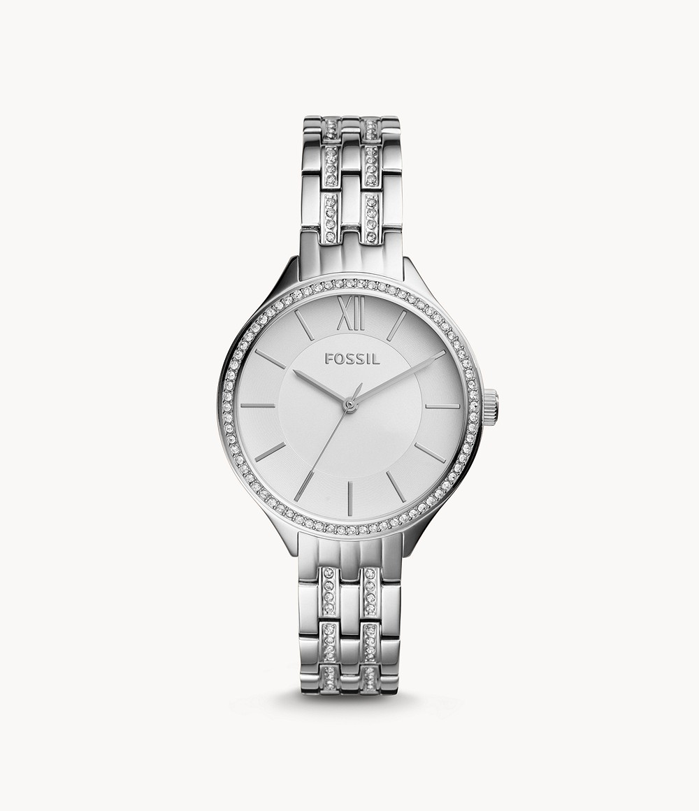 Suitor Three-Hand Stainless Steel Watch
