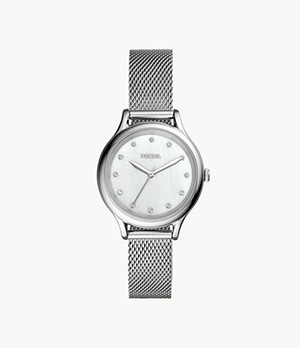 Laney Three-Hand Stainless Steel Watch