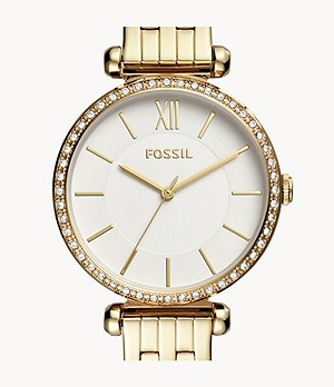 Tillie Three-Hand Gold-Tone Stainless Steel Watch