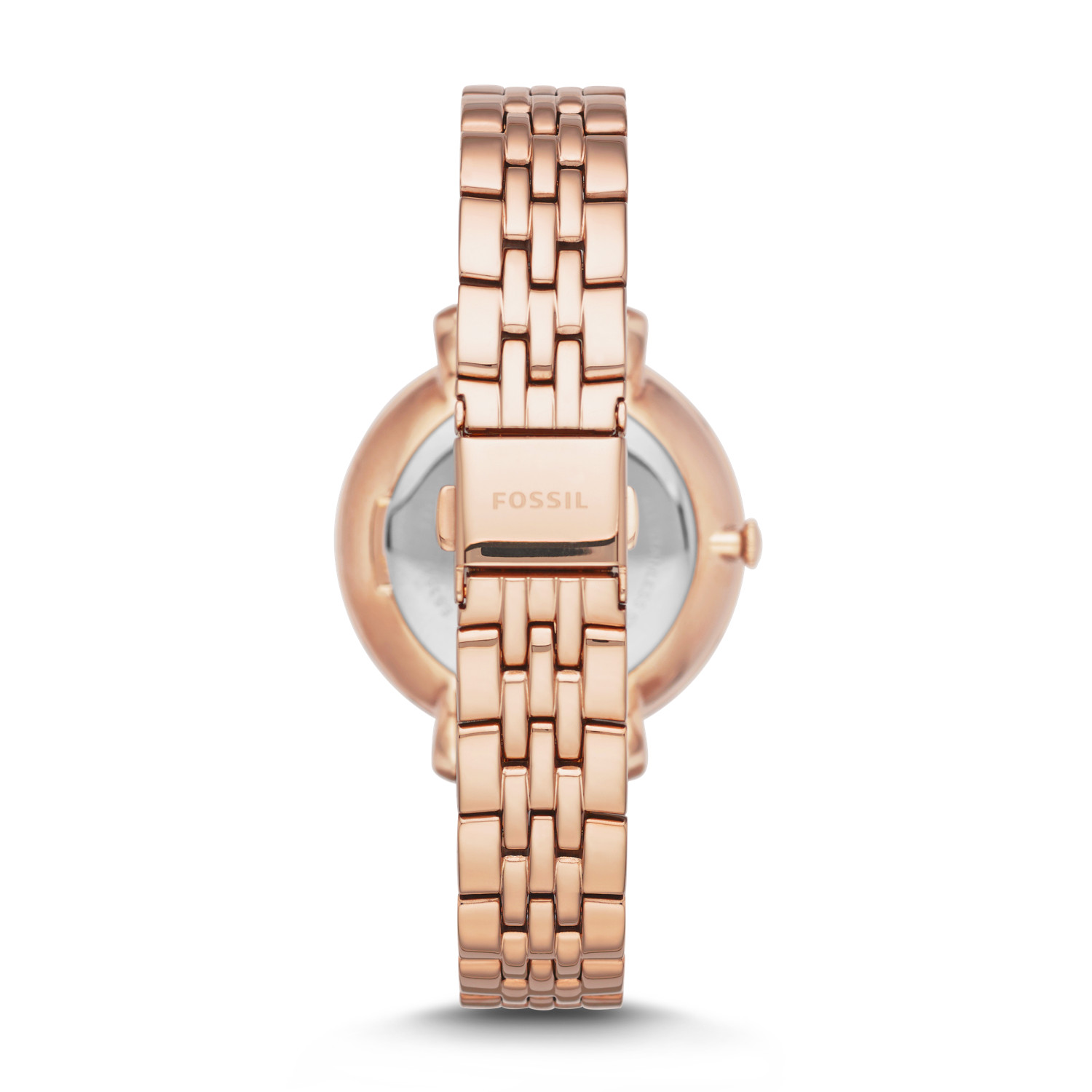 9d769daa992d Jacqueline Rose-Tone Stainless Steel Watch - Fossil