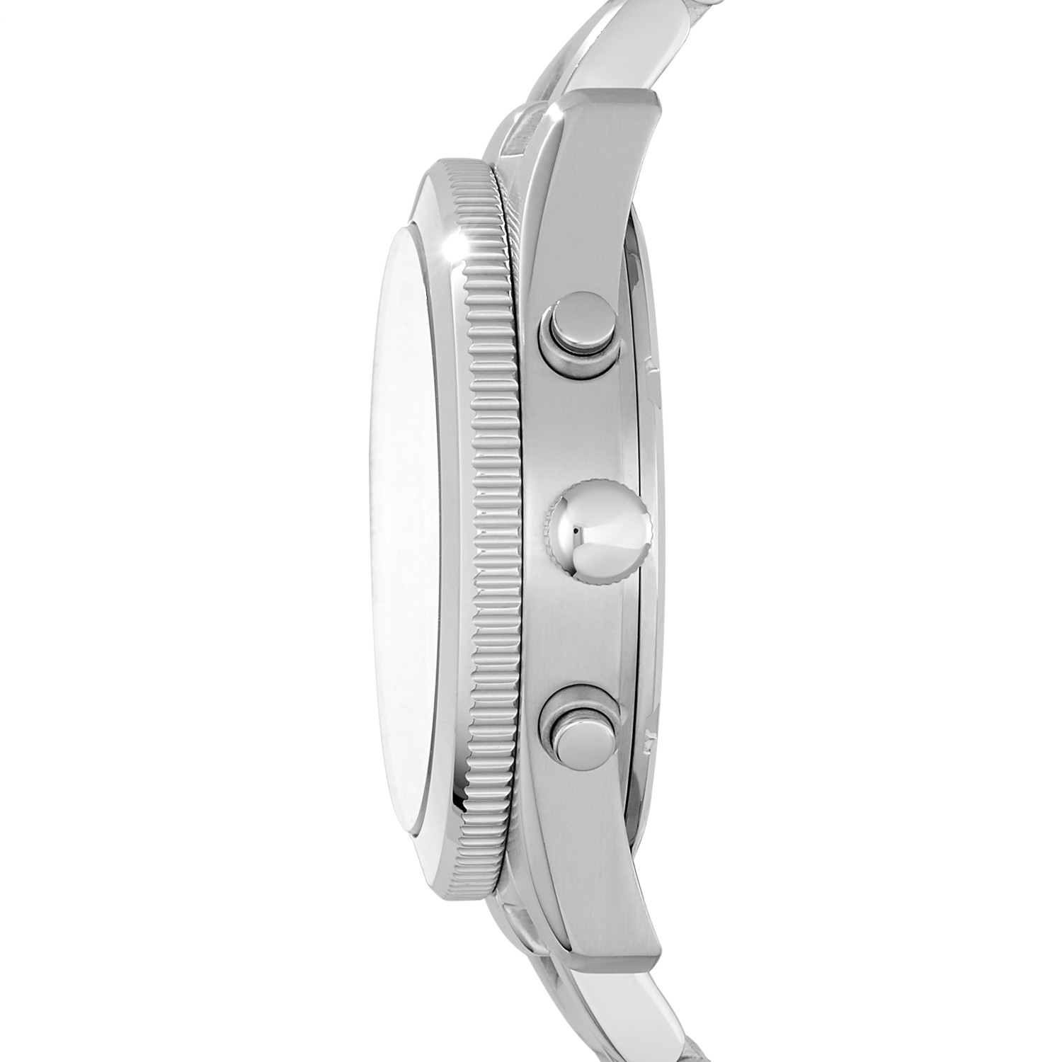 fcaa2be9ce42 Perfect Boyfriend Multifunction Stainless Steel Watch - Fossil
