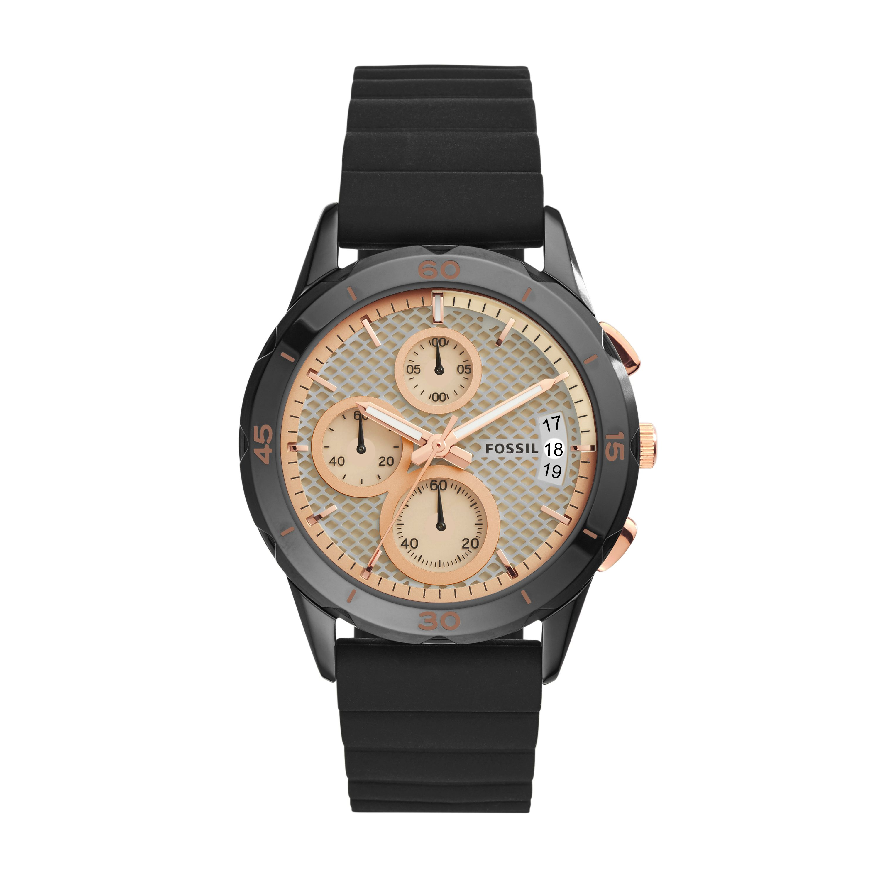 black chronograph watch. Black Bedroom Furniture Sets. Home Design Ideas