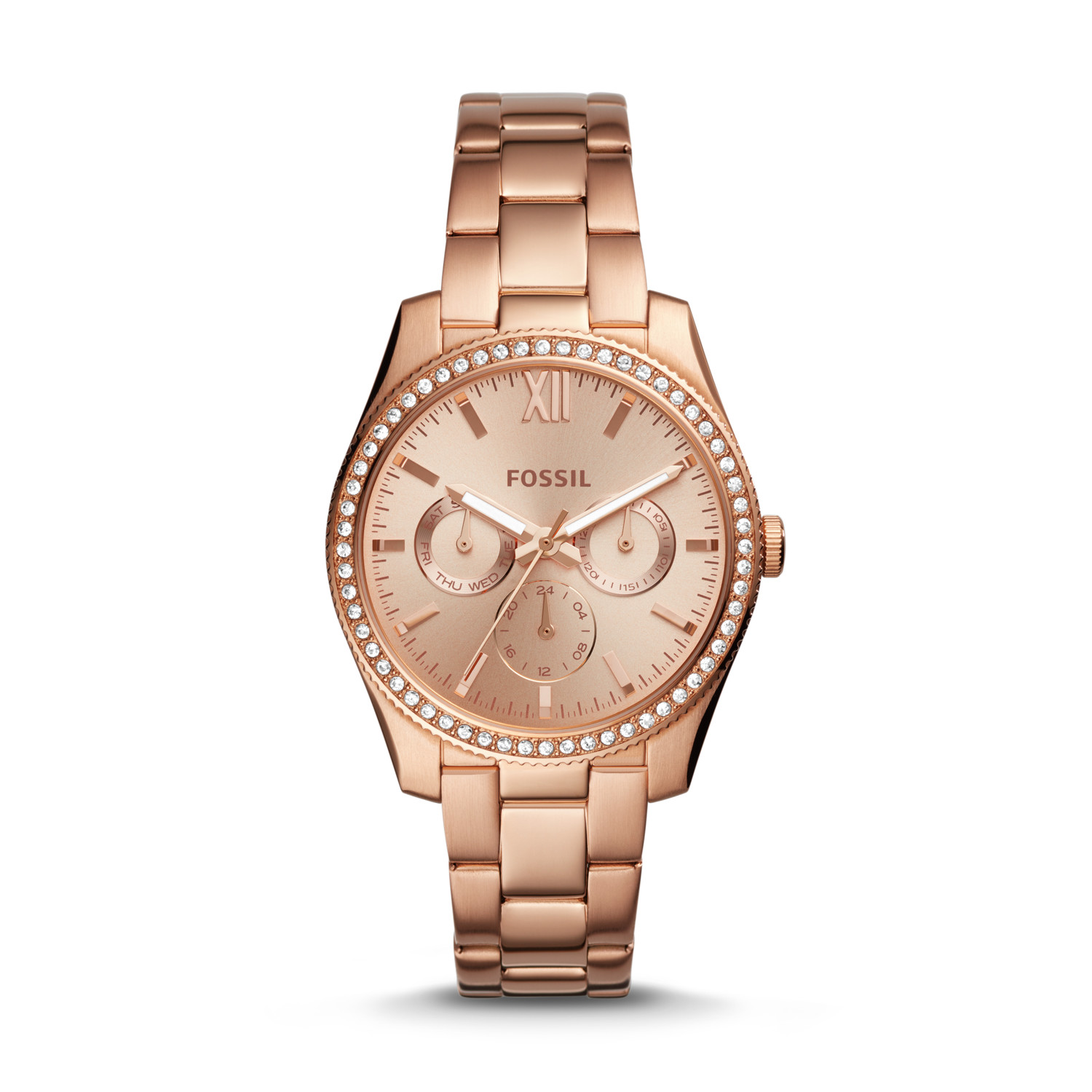 soho watch rose gold dkny ladies mesh dial watches