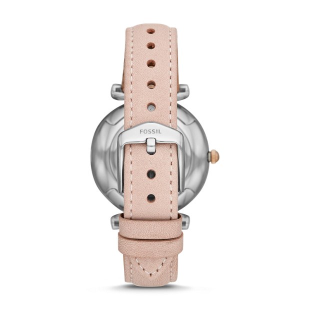 077010d2aafb Carlie Three-Hand Blush Leather Watch. lblAltImage 0  lblAltImage 1   lblAltImage 2. lblAltImage 1