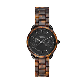Tailor Multifunction Tortoise Acetate Watch