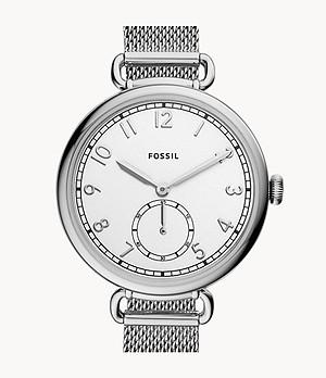 Josey Three-Hand Stainless Steel Watch
