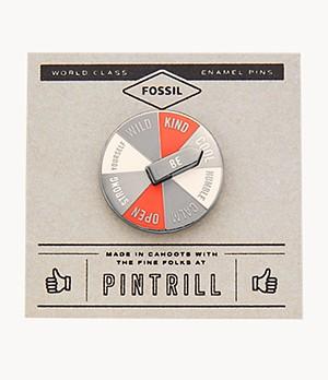 Pintrill® x Fossil Anstecker Spinner