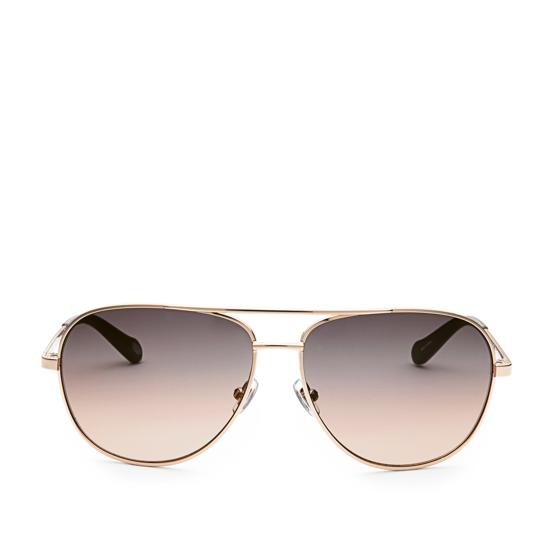 164f1400807 Alex Aviator Sunglasses - Fossil