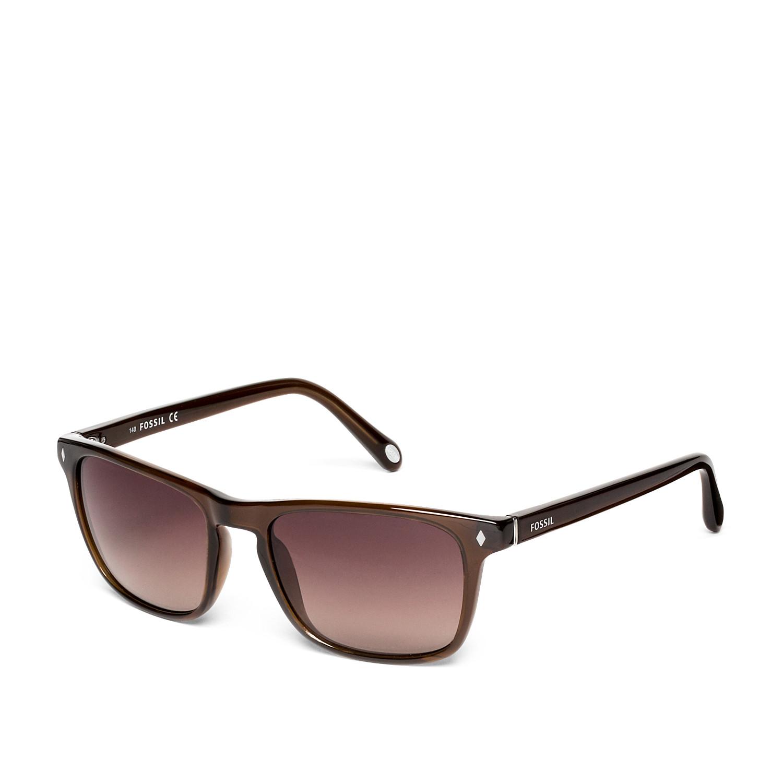 10f4d8271cba6a Merrit Square Sunglasses - Fossil