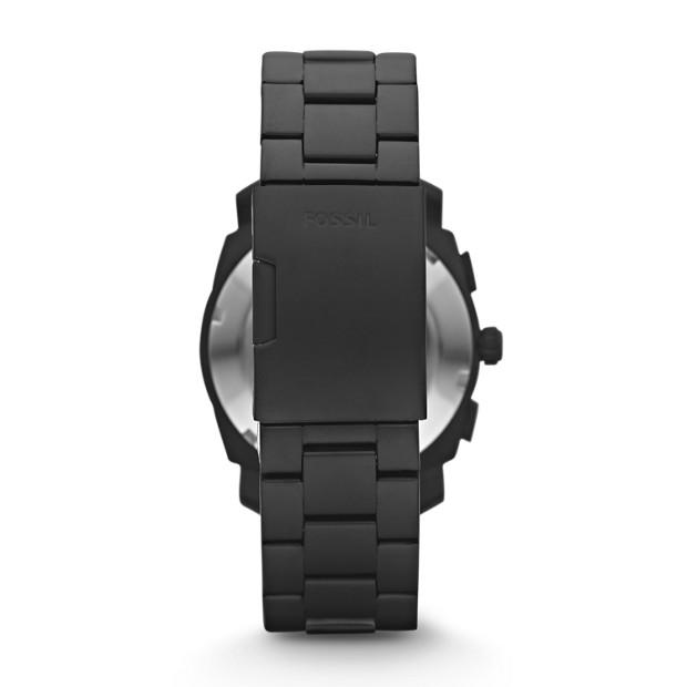 Fossil - Montre Machine chronographe en acier inoxydable - Noir - 2