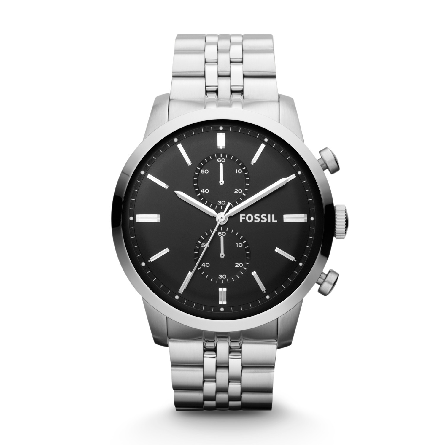 7075e4743 Townsman Chronograph Stainless Steel Watch - Fossil