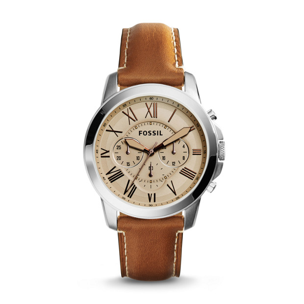efb6cd5caf3ae Grant Chronograph Light Brown Leather Watch. lblAltImage 0  lblAltImage 1