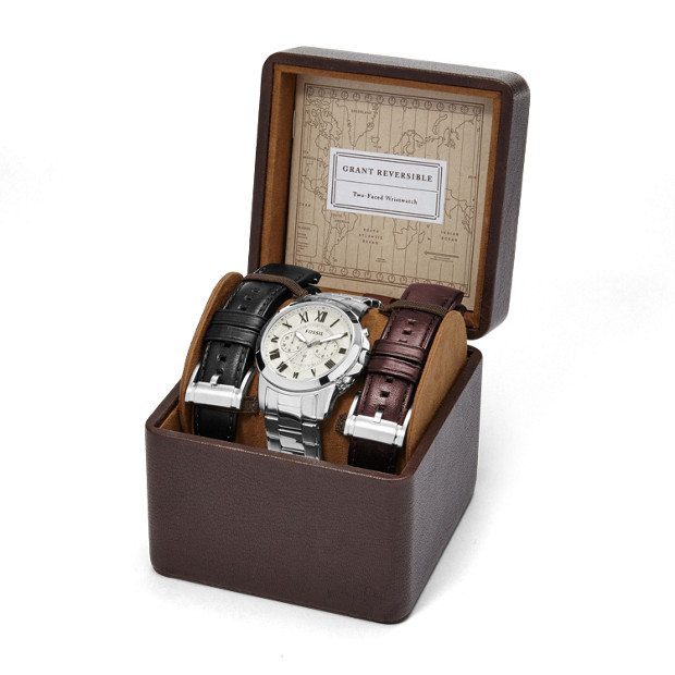 Fossil bracelet watch set