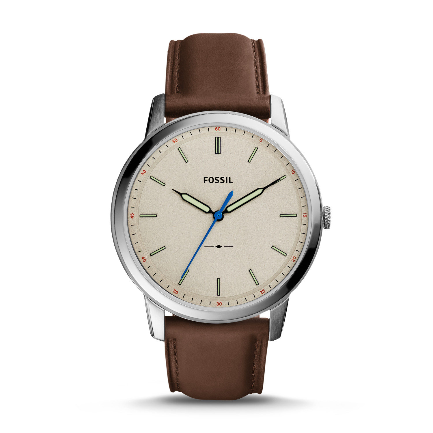 main sku brown leather fossil pdpzoom slim the watches products hand aemresponsive en us three watch minimalist
