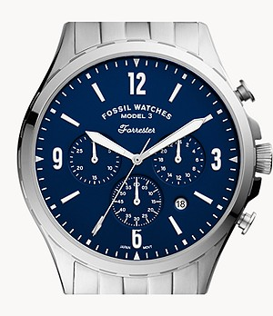Forrester Chronograph Stainless Steel Watch