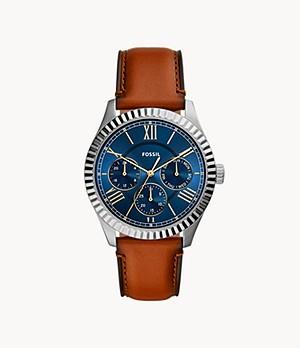 Chapman Multifunction Luggage Leather Watch