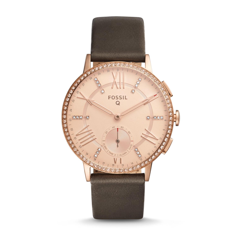 fad7d4996c76 Hybrid Smartwatch - Gazer Gray Leather - Fossil