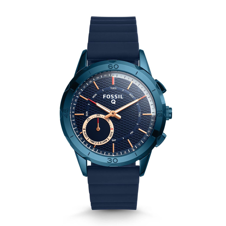 Hybrid Smartwatch - Q Modern Pursuit Navy Blue Silicone