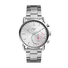 Hybrid Smartwatch - Q Commuter Stainless Steel