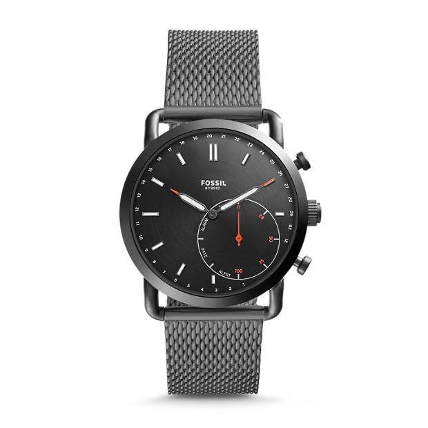 Hybrid Smartwatch - Q Commuter Smoke Stainless Steel