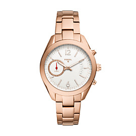 Hybrid Smartwatch – Q Alyx Rose-Gold-Tone Stainless Steel