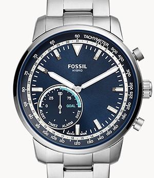 Herren Hybrid Smartwatch Goodwin Edelstahl