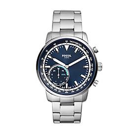 Herren Hybrid Smartwatch Q Goodwin - Edelstahl