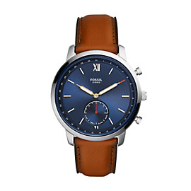 Hybrid Smartwatch - Neutra Luggage Leather
