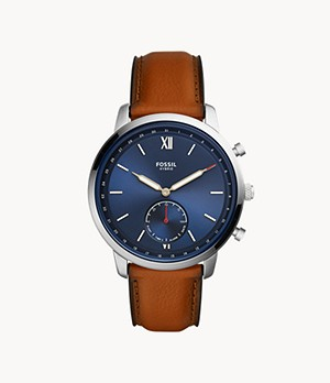 Hybrid Smartwatch Neutra Luggage Leather