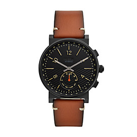 Hybrid Smartwatch - Barstow Tan Leather