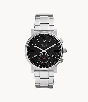 Herren Hybrid Smartwatch Barstow Edelstahl