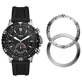 Hybrid Smartwatch Garrett Black Silicone