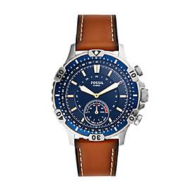 Hybrid Smartwatch Garrett Luggage Leather