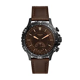 Hybrid Smartwatch Garrett Brown Leather