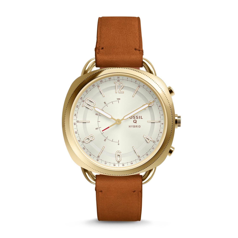 f1f2c8ac7847 Hybrid Smartwatch - Accomplice Luggage Leather - Fossil