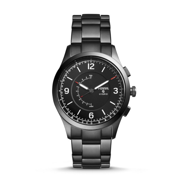 Hybrid Smartwatch – Q Activist Smoke Stainless Steel by Fossil