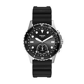 Hybrid Smartwatch FB-01 Black Silicone