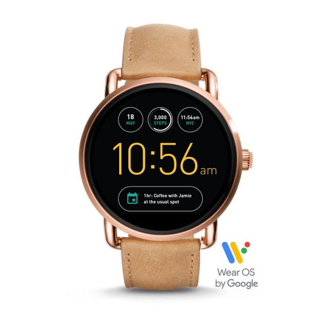 cf92d8a3c0 Gen 2 Smartwatch - Wander Light Brown Leather - Fossil