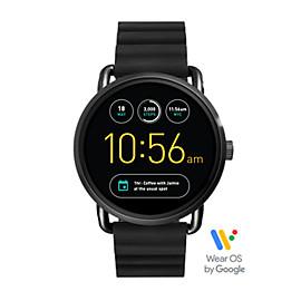 Gen 2 Smartwatch - Q Wander Black Silicone