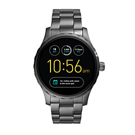 Gen 2 Smartwatch - Q Marshal Smoke Stainless Steel
