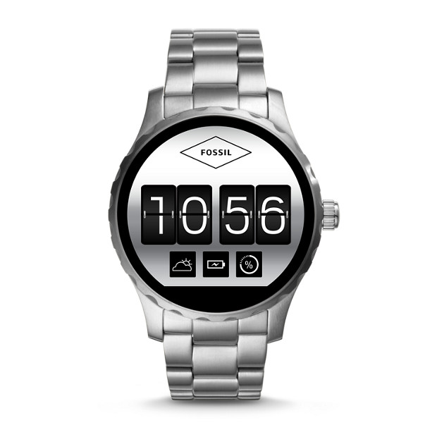 fb8b6a68234e REFURBISHED Gen 2 Smartwatch - Q Marshal Stainless Steel - Fossil