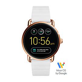 Gen 2 Smartwatch - Q Wander White Silicone