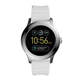 Herren Smartwatch Q Founder - 2. Generation - Silikon - Weiß