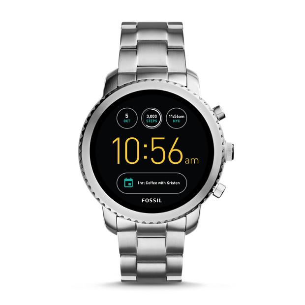 Gen 3 Smartwatch - Q Explorist Stainless Steel - Fossil