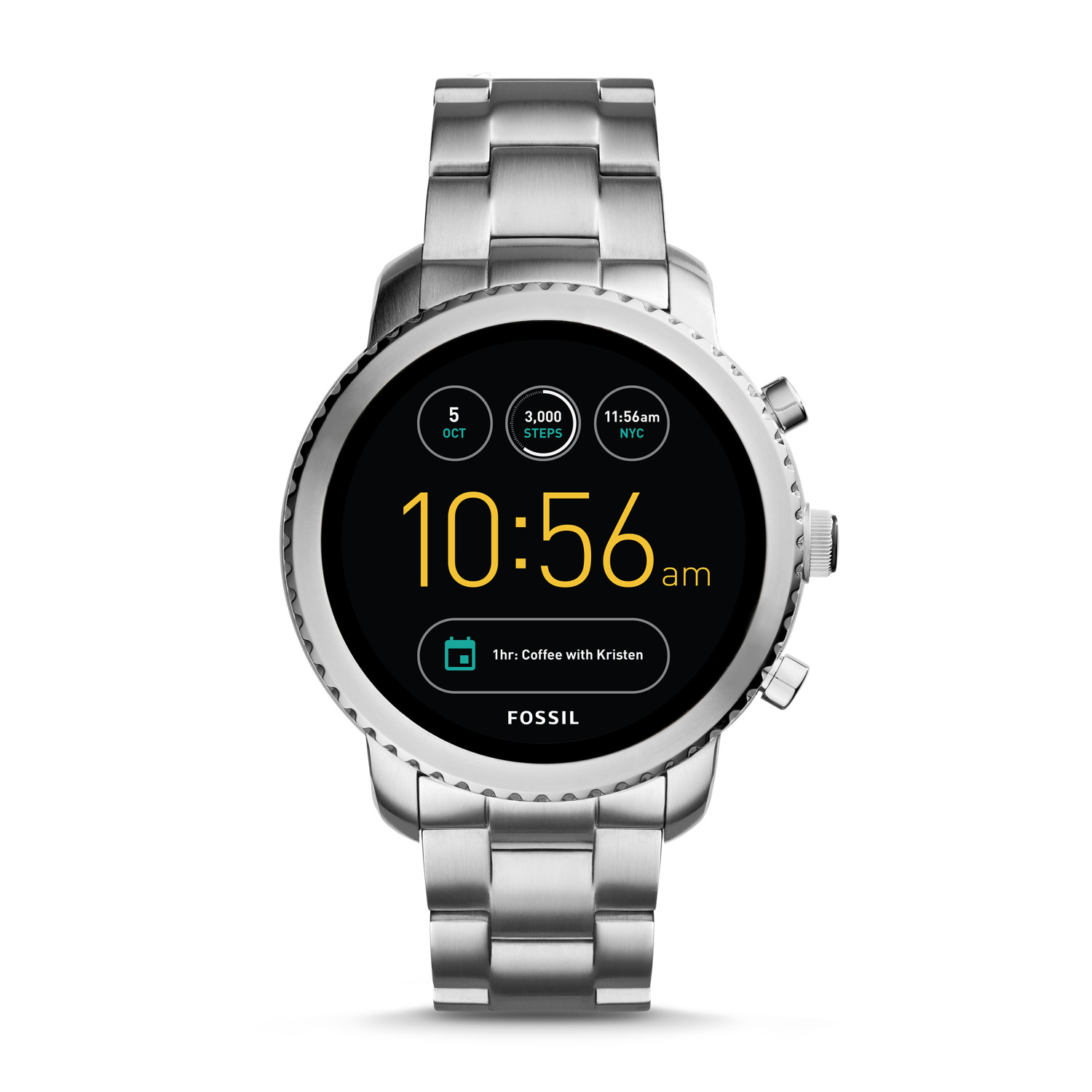 7524bf2f6 Gen 3 Smartwatch - Explorist Stainless Steel - Fossil