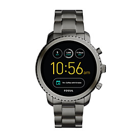 Gen 3 Smartwatch – Q Explorist Smoke Stainless Steel