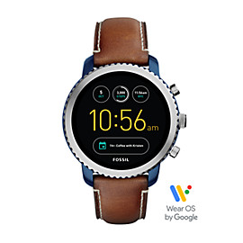 Gen 3 Smartwatch - Q Explorist Luggage Leather