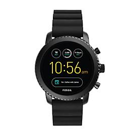Gen 3 Smartwatch – Q Explorist Black Silicone
