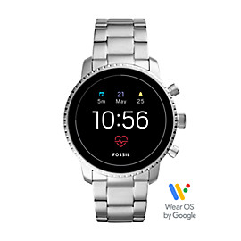 Gen 4 Smartwatch - Q Explorist HR Stainless Steel